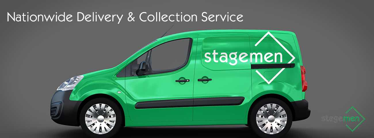 TV Screen hire from Stage Men
